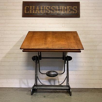 Table à dessin OZA la Cellophane 1950