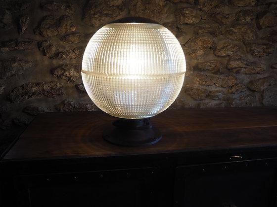 Lampe boule Holophane 1950