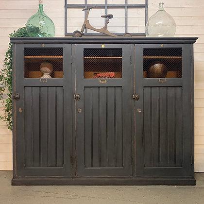 Ancienne armoire médicale en bois