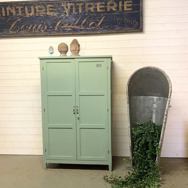 armoire internat parisienne vert
