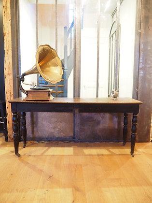 Table de drapier, console vers 1950