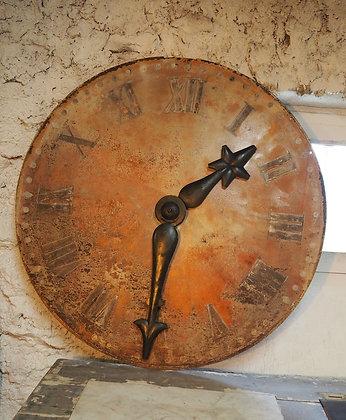 Cadran d'église 94 cm de diamètre 1875