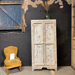 armoire parisienne patine