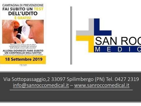 Sanità #sanroccomedical #sanità #udito