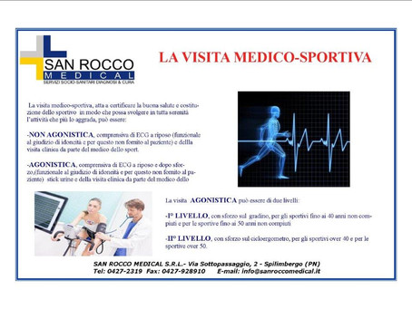 Sanità #sanroccomedical #sanità #sport