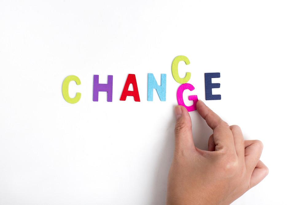 Acoge el cambio