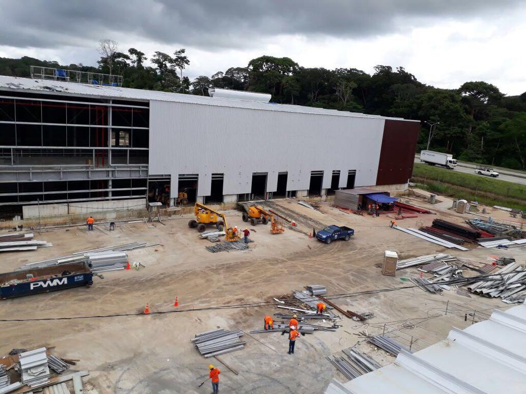 Construcción Galeras 9060-9070, Panamá Pacífico