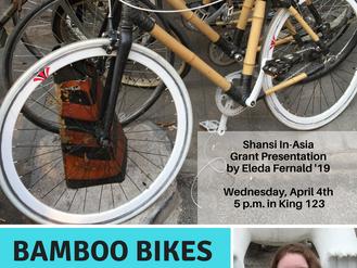 In-Asia Grant Presentation: Bamboo Bikes in Beijing