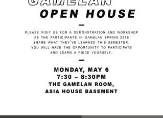 Gamelan Open House
