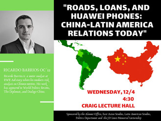 """Roads, Loans, and Huawei Phones: China-Latin Americarelations Today"""