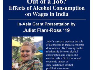 Chilled Out or Out of a Job?: Effects of Alcohol Consumption on Wages in India