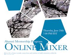 Alumni Mentorship Program Online Mixer