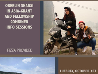 In-Asia Grants and Fellowships Info Session