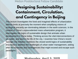 """Designing Sustainability"" - Job Talk by Victoria Nguyen"