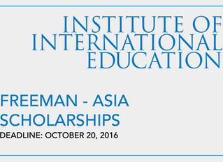 Freeman-ASIA Scholarships for Study Abroad in East Asia and Southeast Asia