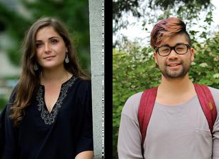 2016 Shansi Prize Winners: Emma Leiken and Richard Tran