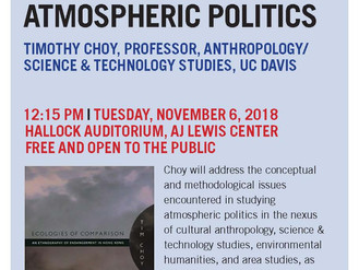 Join us for Timothy Choy's Lecture