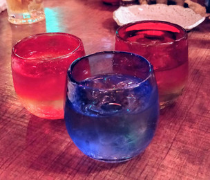 Rakuen - 3 cups of Awamori.jpg