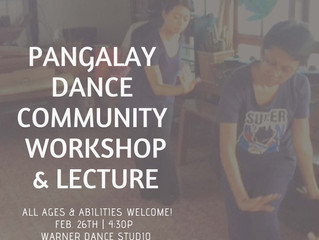 In-Asia Grant Pangalay Dance Community Workshop and Lecture