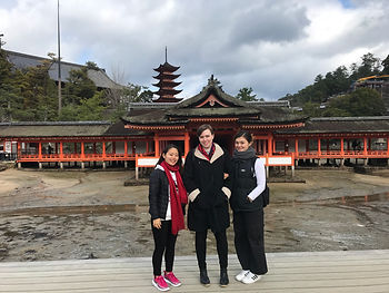Miyajima Island in Hiroshima with Leah a