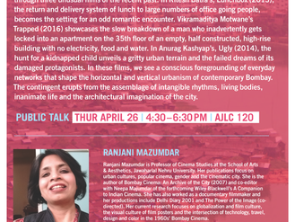 Public Talk: Cinematic Bombay — Contingency, Crisis, and Decay