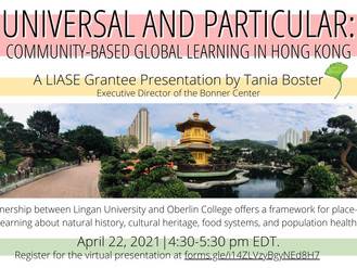 Universal and Particular: Community-Based Global Learning in Hong Kong