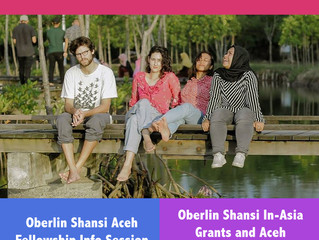 Aceh Indonesia Fellowship Info Session