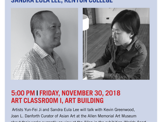 Nov. 30 Artist Talk Cancelled