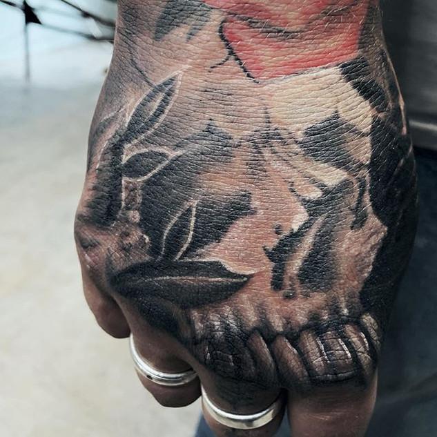 Fresh skull! #tattoo#tattoos#inked#ink#s