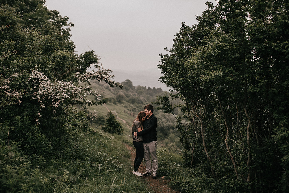 countryside couple shoot