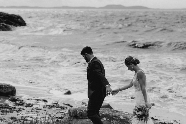 editorial style wedding couple photography