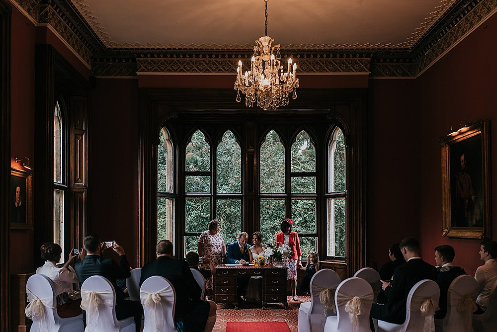 beautiful gothic mansion for wedding