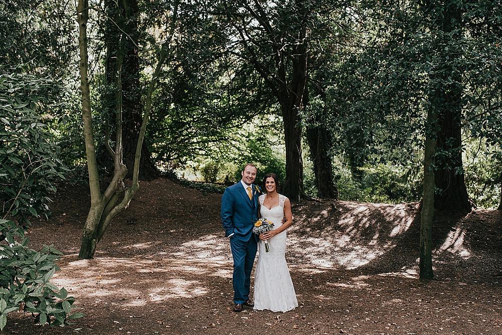 outdoors wedding photography warwickshire