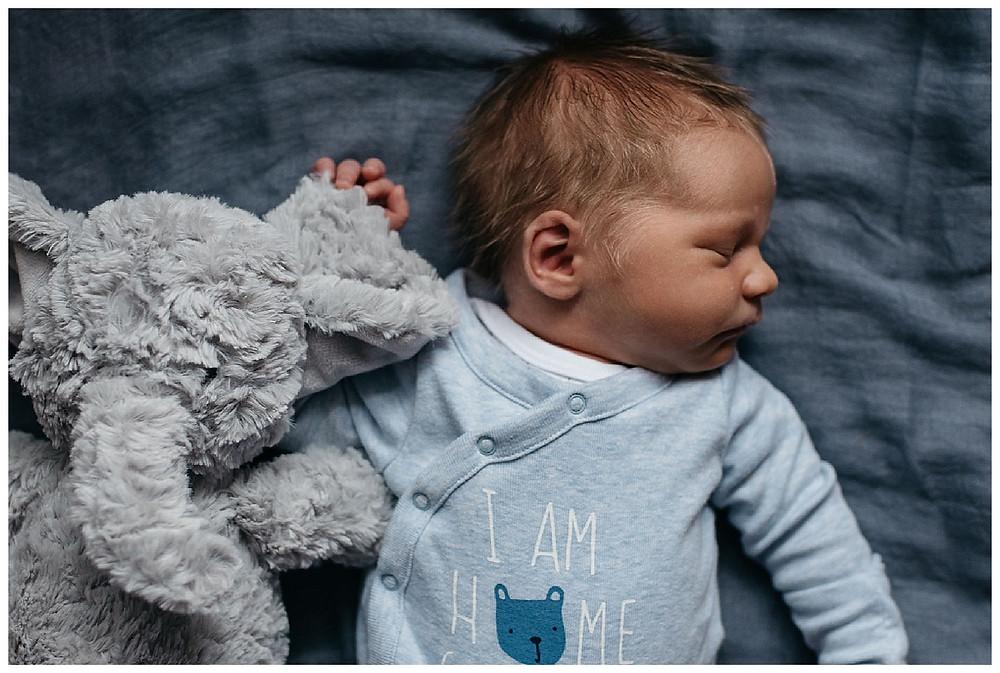 sleeping newborn photography, newborn lifestyle photographer, newborn photographer warwickshire