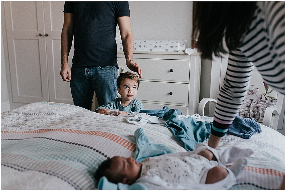 documentary family photography bedroom