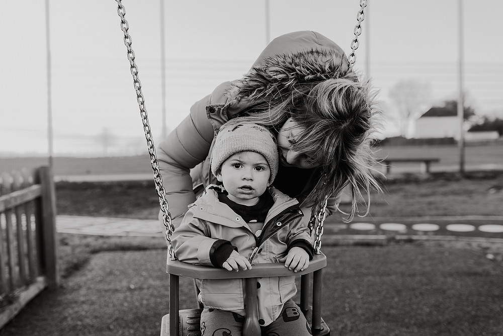 documentary family photoshoot outdoors