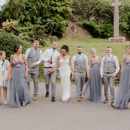 Village Hall Summer Wedding / BBQ, Beer & Partying / Birmingham Wedding Photographer