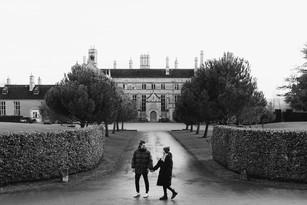 Cosy Pre Wedding Couple Photography / Batsford Arboretum / Cotswolds Wedding Photographer