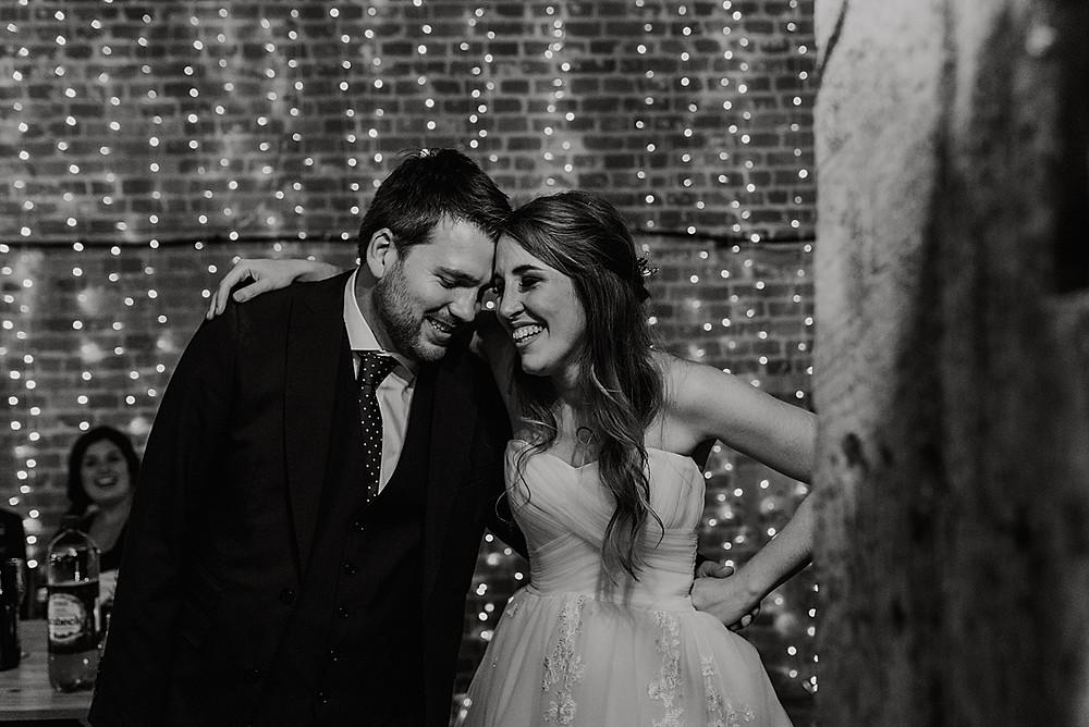 unposed wedding photography barn wedding