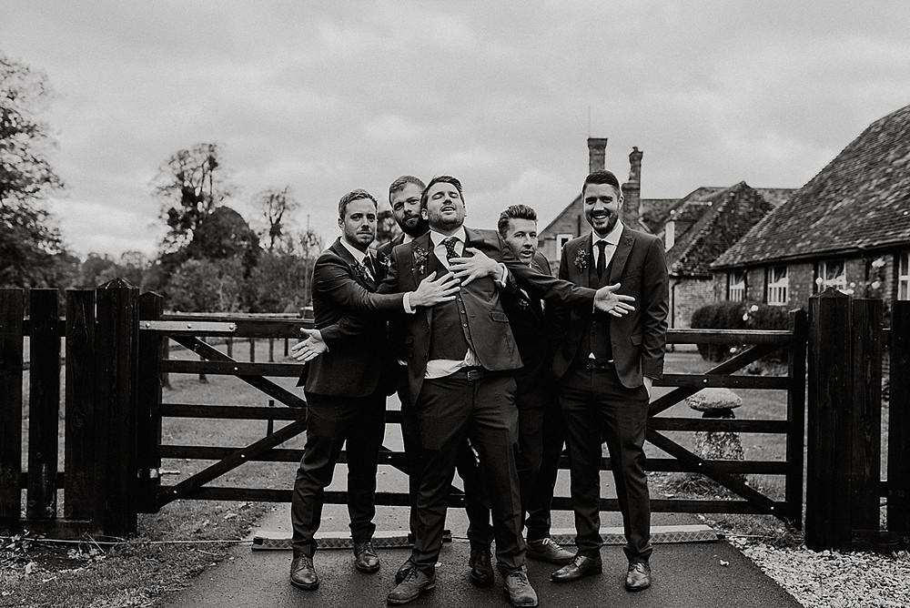 groomsmen documentary photography