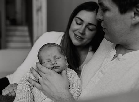 Documentary Newborn & Sibling Lifestyle Photography / Warwickshire Family Photographer