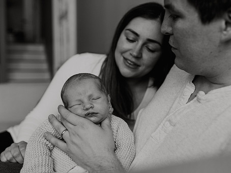 Documentary Newborn & Sibling Lifestyle Photography / Warwickshire Family Photographer