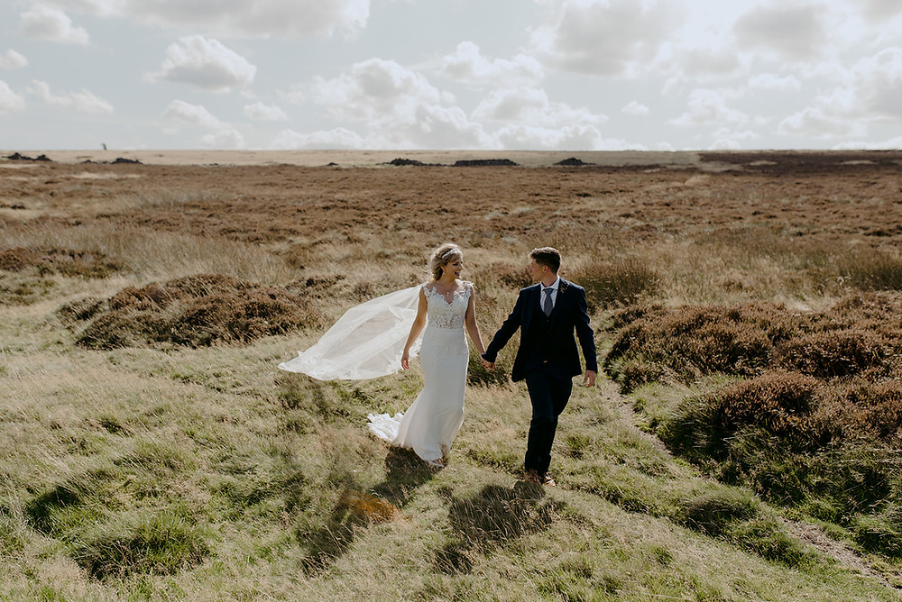 outdoor wedding photography countryside