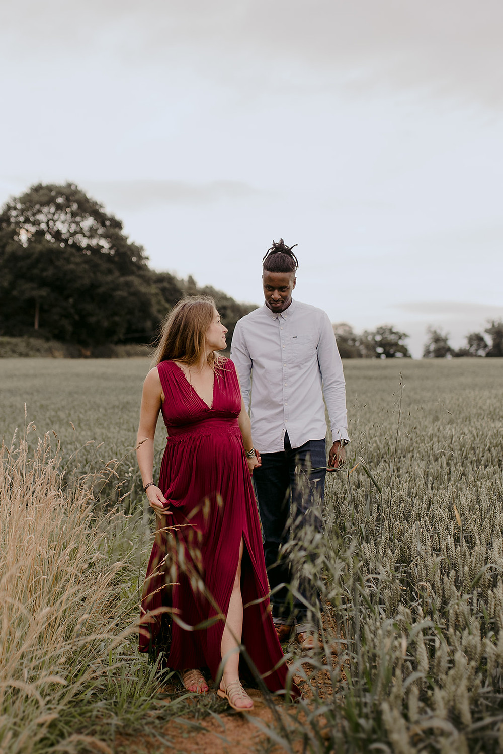 outdoor maternity photography warwickshire