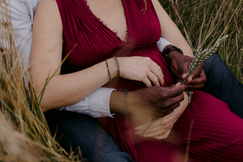 Maternity photography warwickshire outdoors