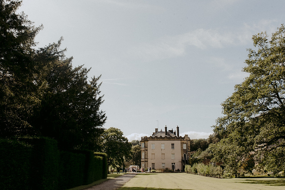 french country house wedding venue grounds