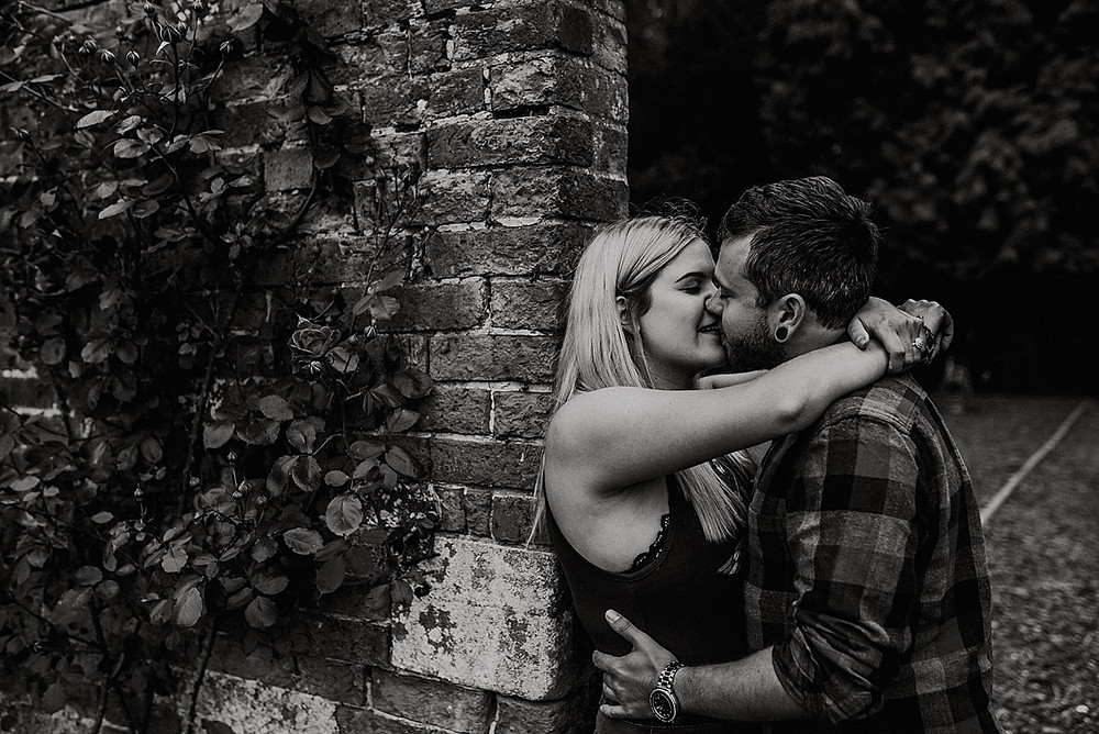 intimate couple photo wedding