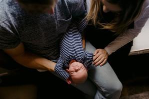 Dreamy Documentary Newborn Photoshoot At Home / Warwickshire Family Photographer