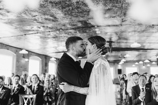 Chic Industrial Wedding at The West Mill / Derbyshire Wedding Photographer