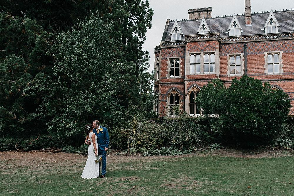 gothic mansion wedding